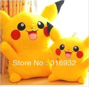 J1 50cm Pikachu Plush Toy Doll, super cute, Children's day gift , 1pc