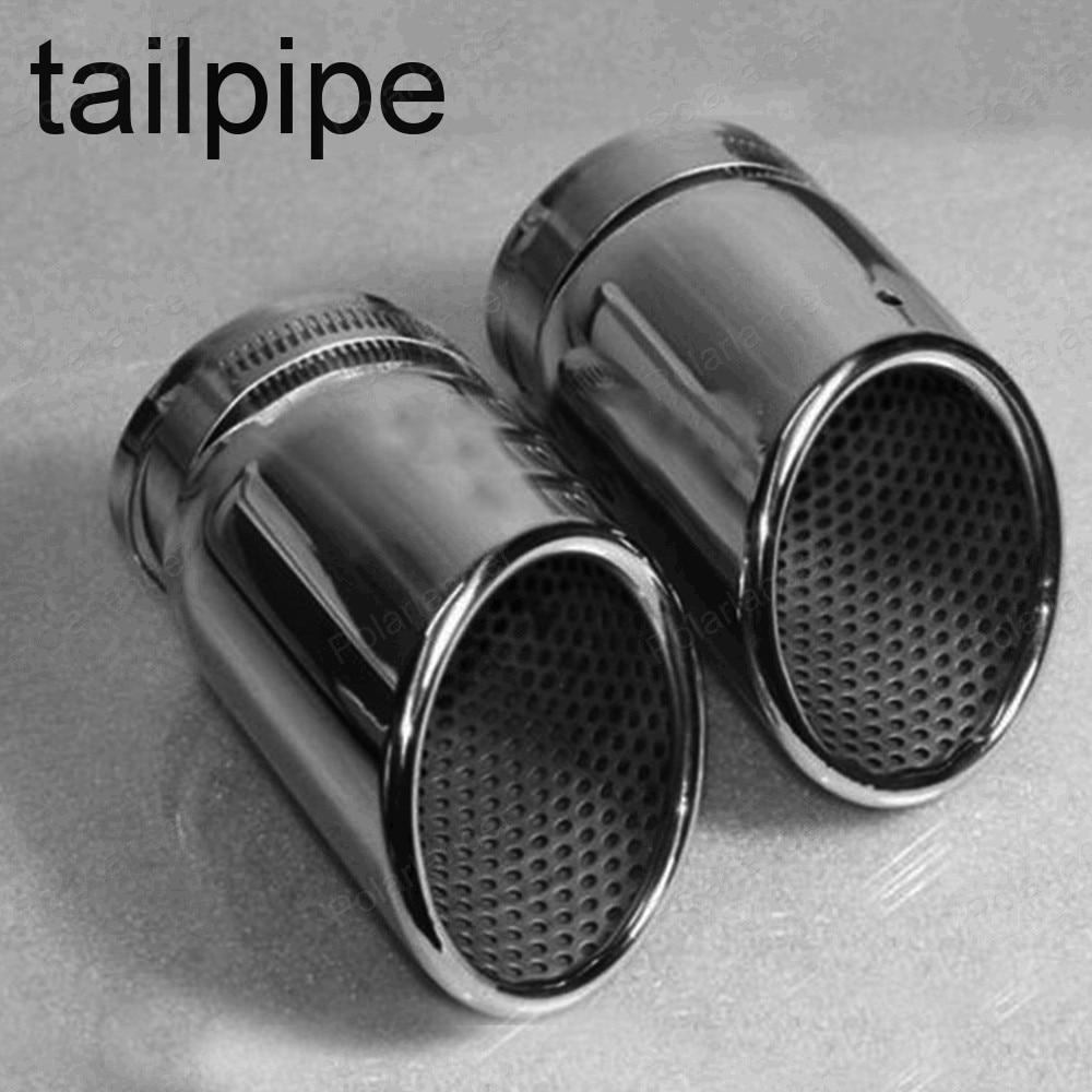 car exhaust pipe muffler for A/udi q5 a4 b8 S/edan 2.0t v/w t/iguan 2009 -2012 chrome stainless steel Escape tailpipe купить ауди q 5 2009