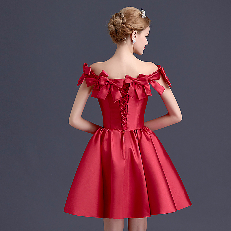 Hermosa Partido Del Vestido De La Dama De Honor Fea Fotos - Vestido ...