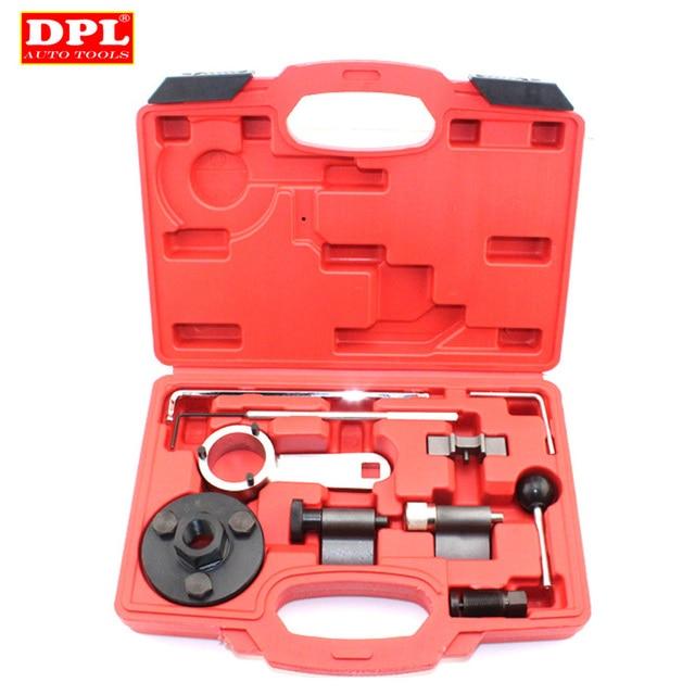 เครื่องยนต์Camshaft Locking Timing ToolชุดสำหรับAudi A1/A3/A4/A5/A6/TTสำหรับSkoda VW VAG 1.6/ 2.0L TDI ST0196