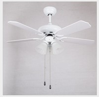 LED Ceiling Fan With Lights Remote Control Ventilador 220 240 Volt Fan LED Light Bulbs Bedroom Fan Lamp Free shipping