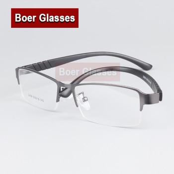 d35b9faa2f (1 piezas) nuevo lujo Semi-rim gafas marco RX-capaz de miopía receta de los hombres  gafas de Marco 2458 (55- 18-140)