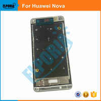 10PCS For Huawei Nova Bezel Middle Frame Housing Frame Replacement Repair Spare Parts For Huawei Nova Phone case Front Frame