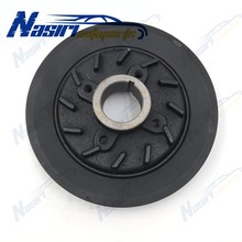Engine Harmonic Balancer Crankshaft Pulley for Mitsubishi Cycone L200 1996-2007 Pick-Up Truck Engine 4D56 #MD050355(China)