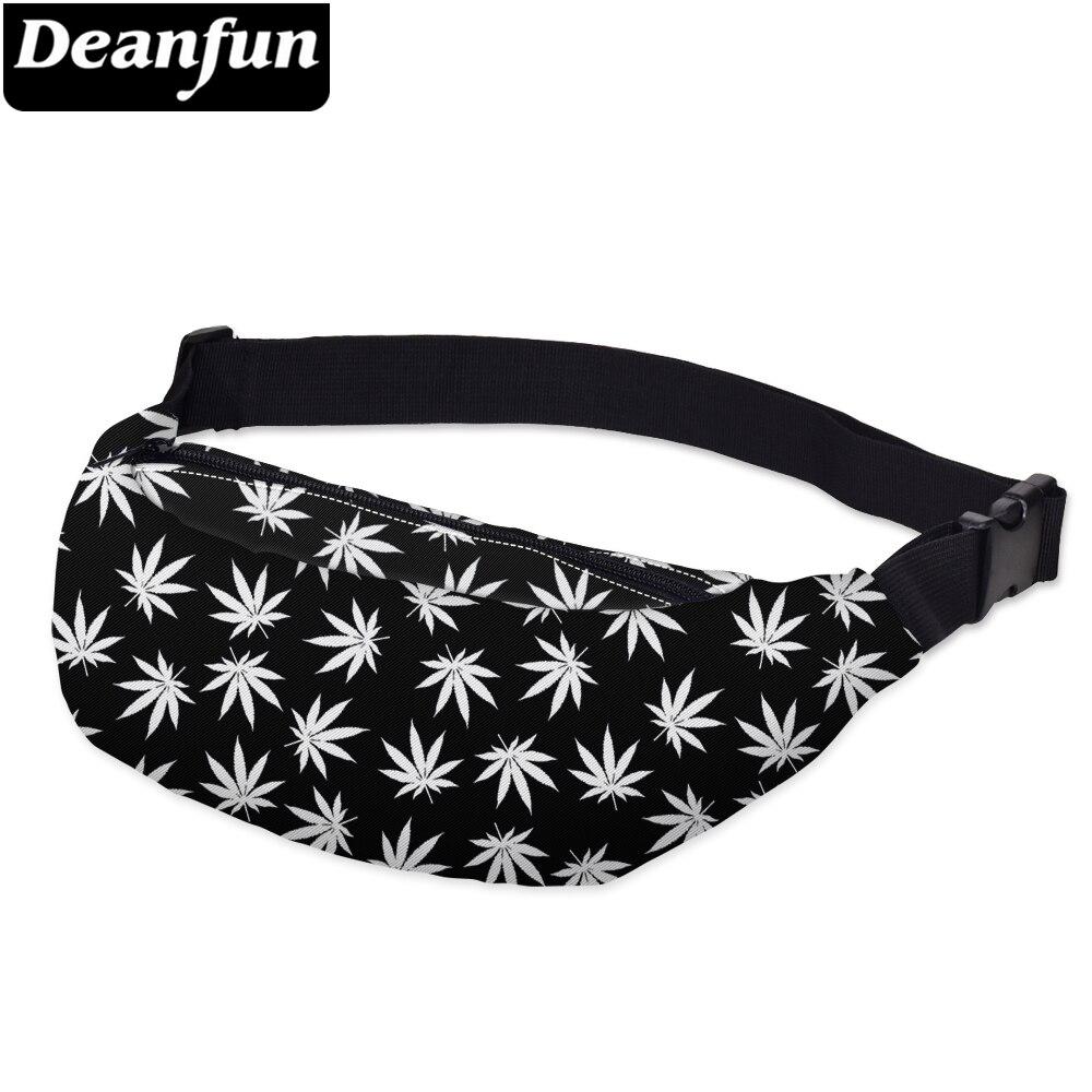 Deanfun Waist Bag 3D Printed Unisex Fanny Bags Multifunction YB6
