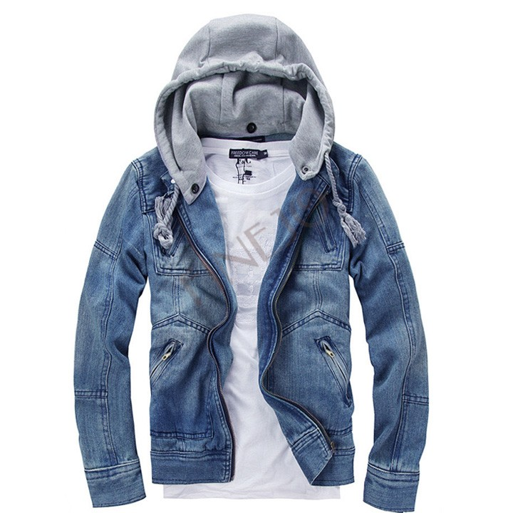 jacket zipper Picture - More Detailed Picture about Good New Denim ...