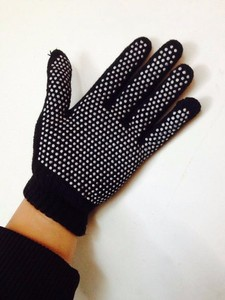 Hot Sale Tourmaline Gloves Five Fingers Design Hands Protector Good Elastic Free Size Magnetic Glove Free Shipping