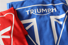 Classic TRIUMPH MOTORCYCLE T-Shirt Men Short Sleeve Summer