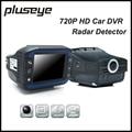 720P Car DVR Radar Detector 2.0 Inch Dash Cam Multifunctional Car Camera Recorder Video Registrator G-sensor Tachograph