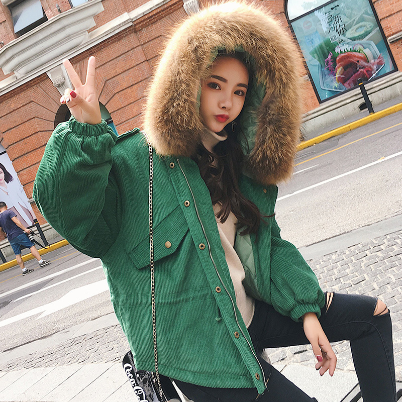 Adibo Winter Jacket Women Maxi Winter Coat Manteau Femme Parka Plus Size With Large Fur Collar Winter Jackets And Coats 11 new 2017 winter women coat long cotton jacket fur collar hooded 2 sides wear outerwear casual parka plus size manteau femme 1858