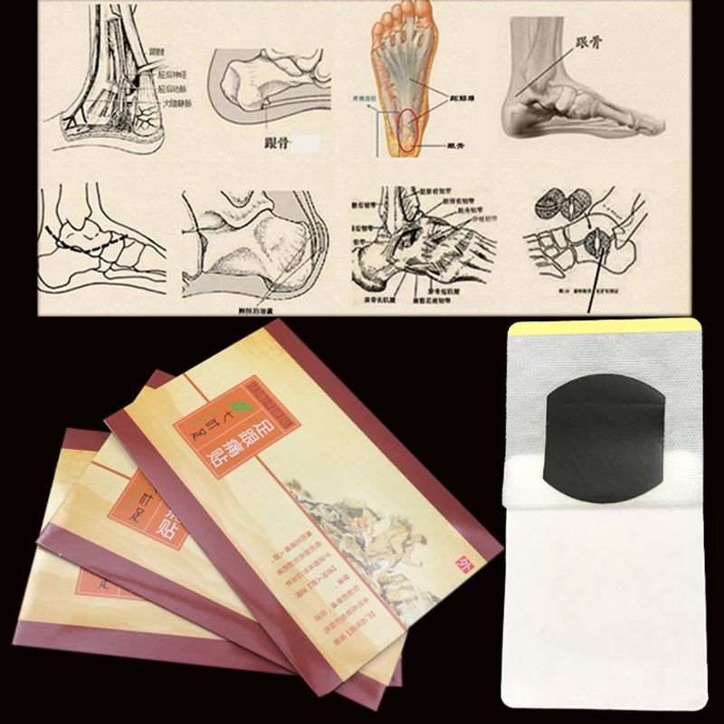 Patch Foot Care Treatment Plaster Heel Pain Patch 100% Chinese Herbal Medicine Calcaneal Spur Heel Spur Pain Patch Pain Relief 25 pair herbal detox foot pad patch massage relaxation herbs medical health care plaster treatment joint pain improve sleep rp2