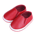 2017 New Genuine Leather Soft Sole First Walkers Breathable Baby Toddler Shoes Casual Infant Crib Shoe Zapatos De Bebe