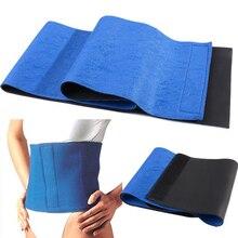 New Adjustable Free Size Trimmer Sauna Belt Slimming Belt Burner Belly Fitness Body Wrap Cellulite Shaper