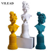 VILEAD 36cm Resin Freya Goddess Statuette Warm Home Decoration Accessories Ornament Modern Event Party Supplies Birthday Gifts