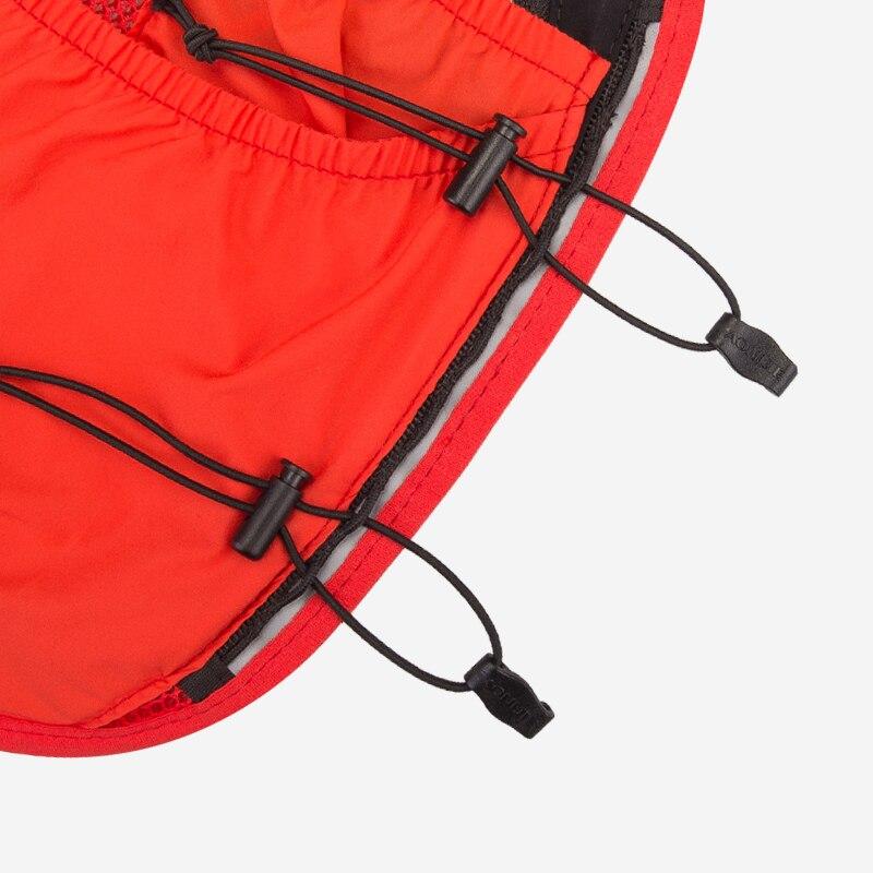 AONIJIE 10L avanzado mochila de hidratación mochila chaleco arnés agua de la vejiga senderismo Camping corriendo maratón carrera - 5