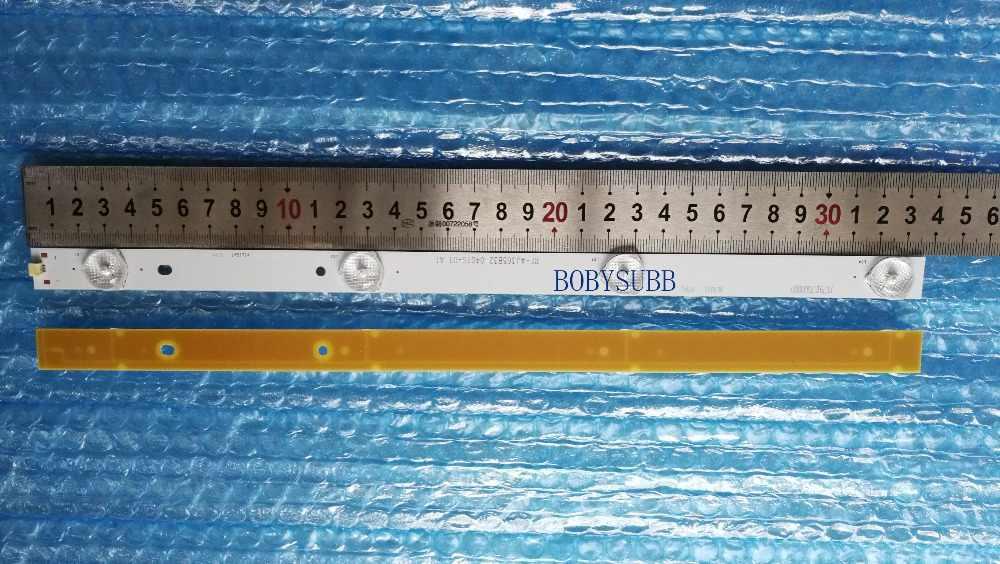 """32 """"37"""" 39 дюймов светодиодный ТВ 6V * 4 светодиодный s светодиодный Подсветка полосы RF-AJ365B32-0401S 336 мм"""