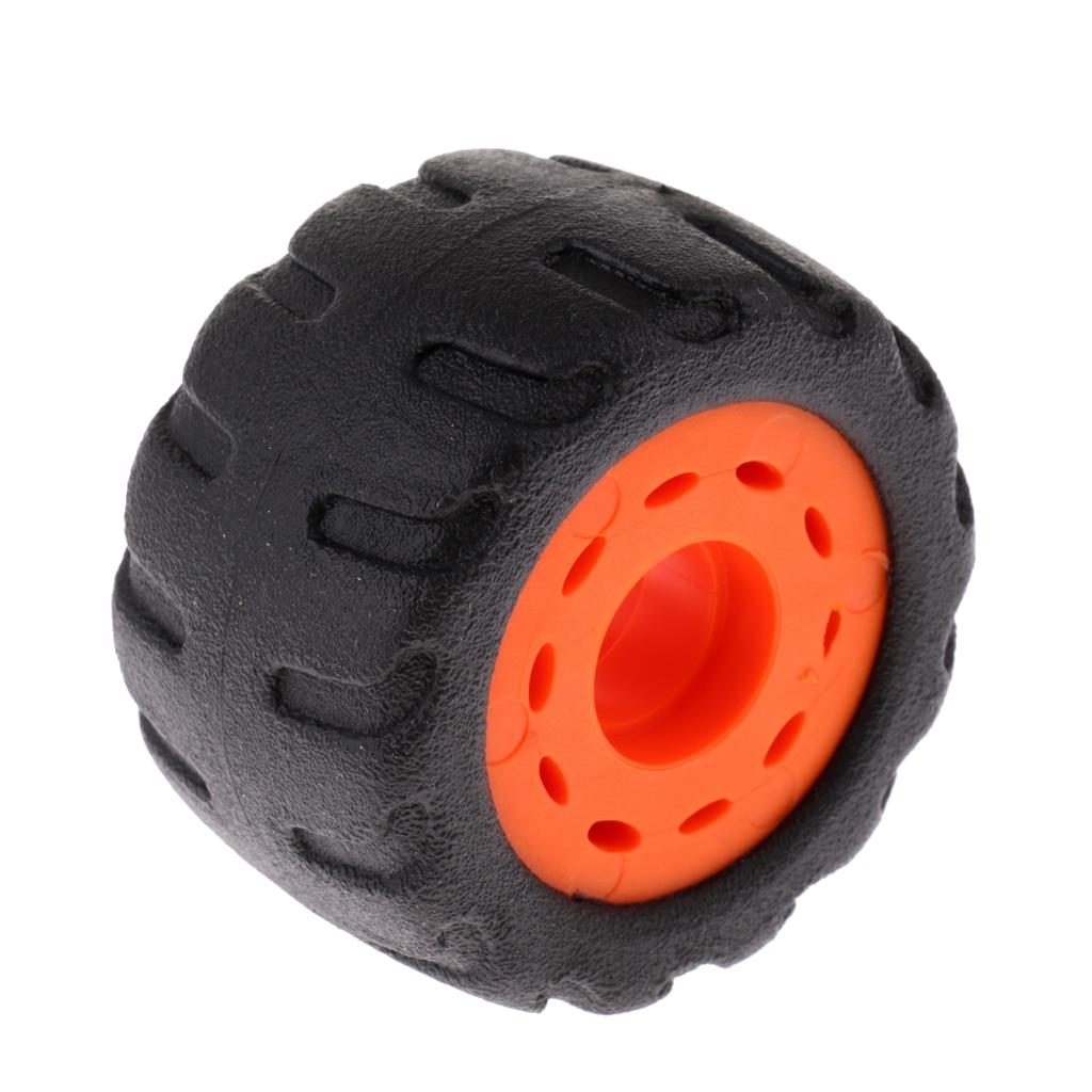 Wearproof PU Rubber Wheel For Longboard / Mountainboard 70x45mm Mountainboard Rubber Wheels