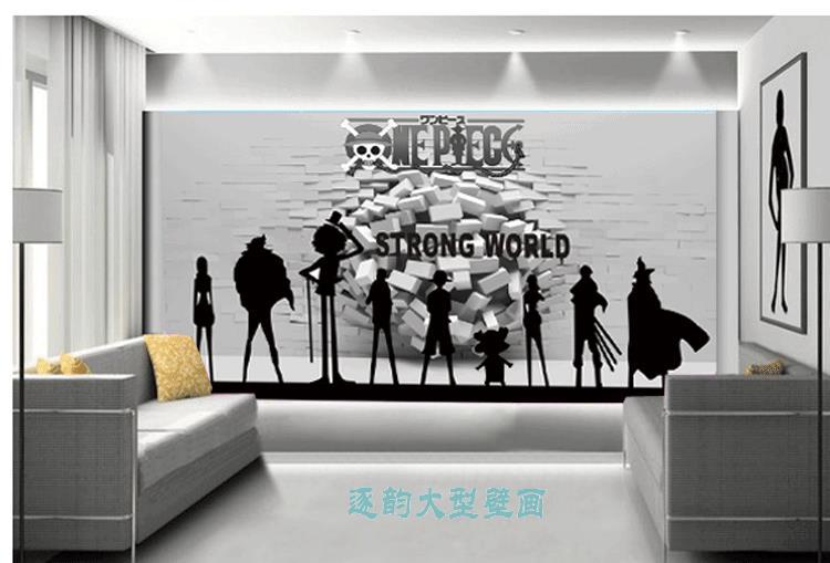 Carta Da Parati Fumetti Bianco E Nero.Il Trasporto Libero 3d Wallpaper Murale Personalizzato A Tema Del