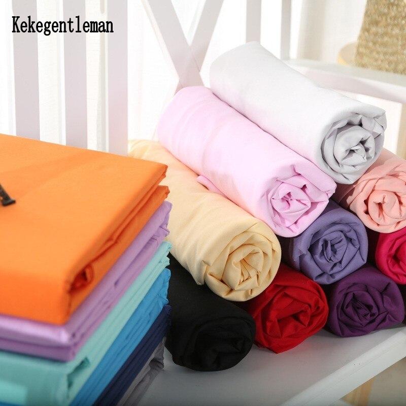 100% хлопок, сплошной плоский лист, простыня, черный, белый, синий, одиночный, полный, Королевский, домашний текстиль, оптовая продажа