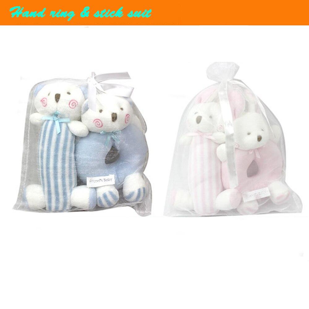 ̿̿̿(•̪ )Conejo/perro campana de mano agarre Juguetes conejito bebé ...