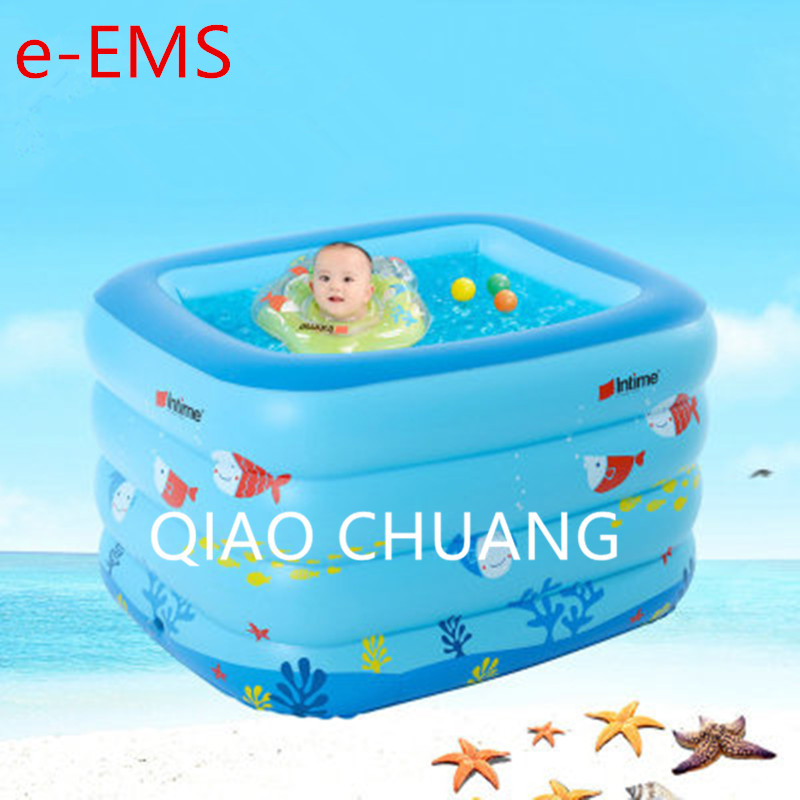 Inflatable Swimming Pool Creative Cartoon The Underwater World PVC Baby Swimming Pool Thicken Children Paddling Pools G953 inflatable swimming pool outdoor toys large scale baby swimming pool sea ball pool thicken children paddling pools g952