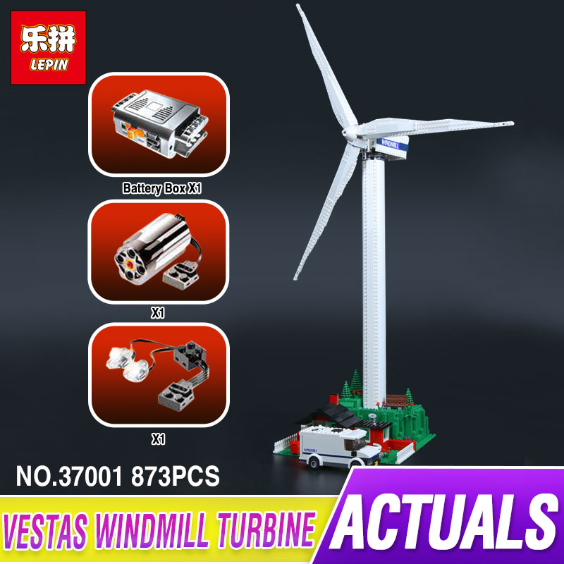 Lepin 37001 Creative Series The Vestas Windmill Turbine Set Children Educationl Building Blocks Bricks Toys Model Gifts 4999 lepin 37001 creative series the vestas windmill turbine set children educational building blocks bricks toys model for gift 4999