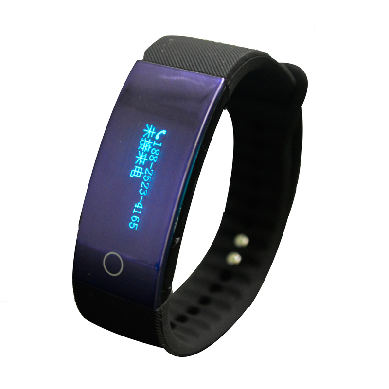 Heart Rate Monitor Band Smart Fitness Wristband Tracker Bluetooth Smart Bracelet Pedometer for iPhone 7 Xiaomi