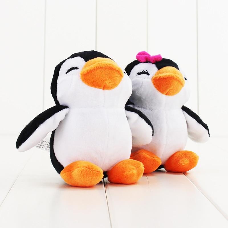 Energetic Pink Penguin Key Chain Polar Bear Small Pendant Plush Toy Bag Pendant Mini Doll Decoration Children Toy Moderate Cost Plush Keychains