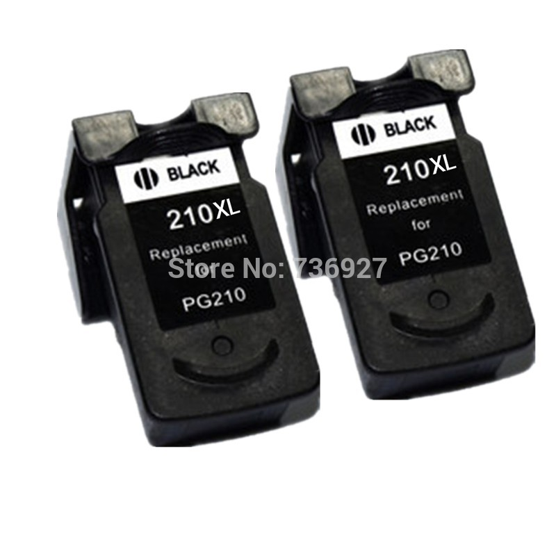 2X Black Compatible Ink Cartridge PG210 PG 210 XL For Canon PIXMA MP240 MP250 MP270 MP480 MP490 MP320 Inkjet Printer In Cartridges From Computer