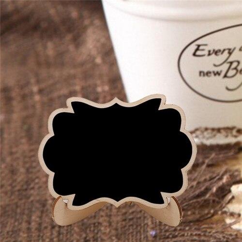 5pcs/Lot Mini Butterfly shape Wooden mini blackboard Message boardFor Wedding Party Decorations chalkboards Islamabad