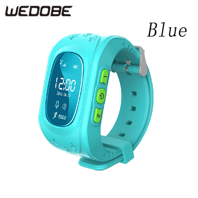 WEDOBE-Q50S GPS Smart Smart Watch SOS Call Location Finder Locator Tracker for Child Anti Lost Monitor Baby Son Girl Wristwatch