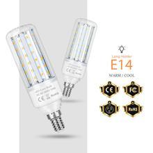 E27 LED Lamp 110V Corn LED Bulb 5W 10W 15W 20W E14 Candle Bulb 2835 SMD Bombillos LED Light 220V No Flicker Energy Saving Light стоимость