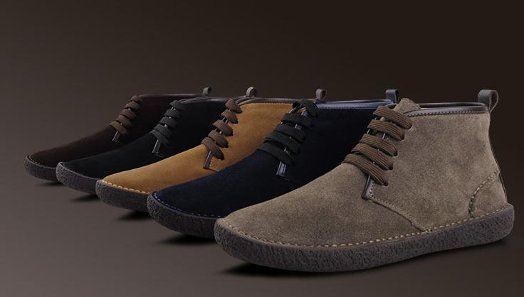 US6 10 Winter suede Leather Men bended wool classic chukkas Boots causal walking shoes snow boots