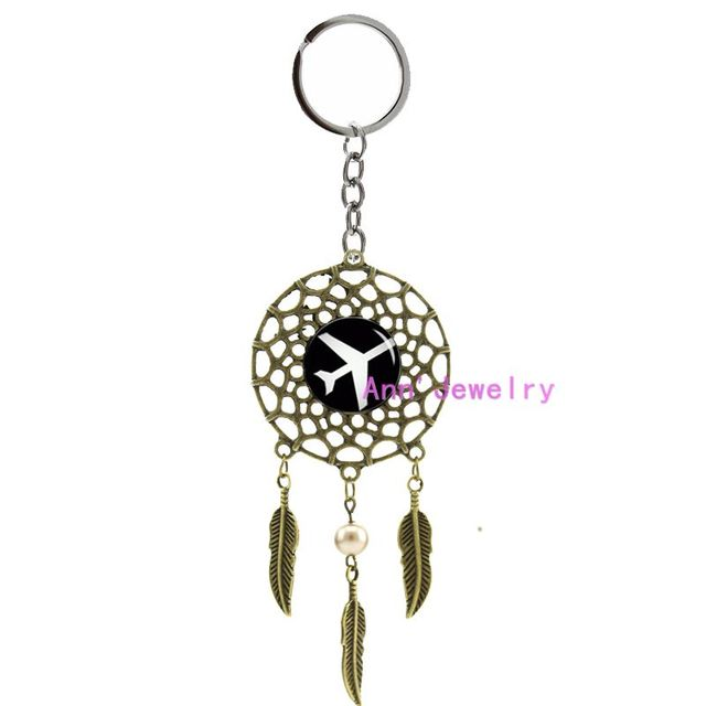 Dream Catcher Airplane 40 plane keychain plane dream catcher airplane feather Aircraft 3