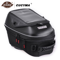 CUCYMA Motorcycle Bag Motorcycle Oil Bags Back Seat Bags Travel Motorbike Scooter Sport Luggage Rear Seat Side Baggage
