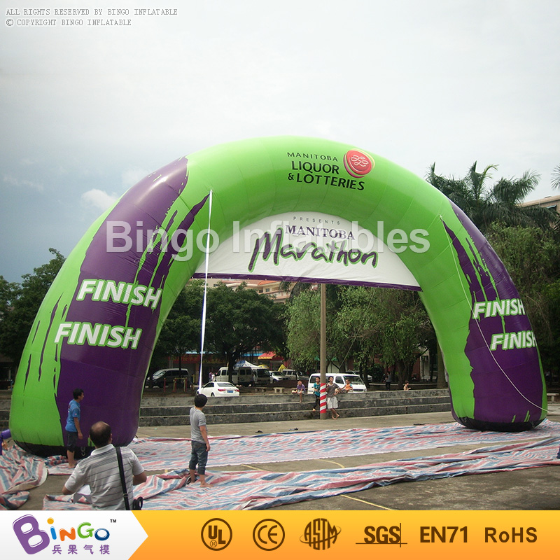 giant inflatable finish line archway for race events,inflatable arch for events toy free shipping 4 legs 8x4m inflatable arch advertising inflatable archway inflatable start finish race arch with removable logo