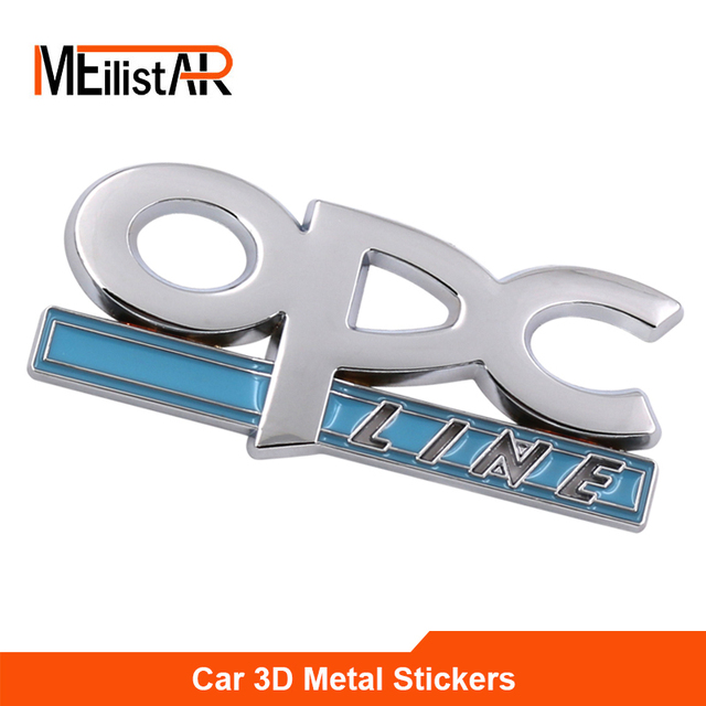 New Opc Line Emblem Badge Decal For Opel Regal Lacrosse Astra Corsa