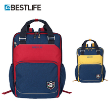 Купить с кэшбэком BESTLIFE school bags for teenagers rucksack can be travel bags Style is concise laptop backpack colour and lustre is full rugzak