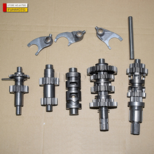 main gear shaft/Variable speed drum/reverse gears/forks suit for ZONGSHEN/SHINERAY/SHIPAO WIND COOLING  CG250 ENGINE