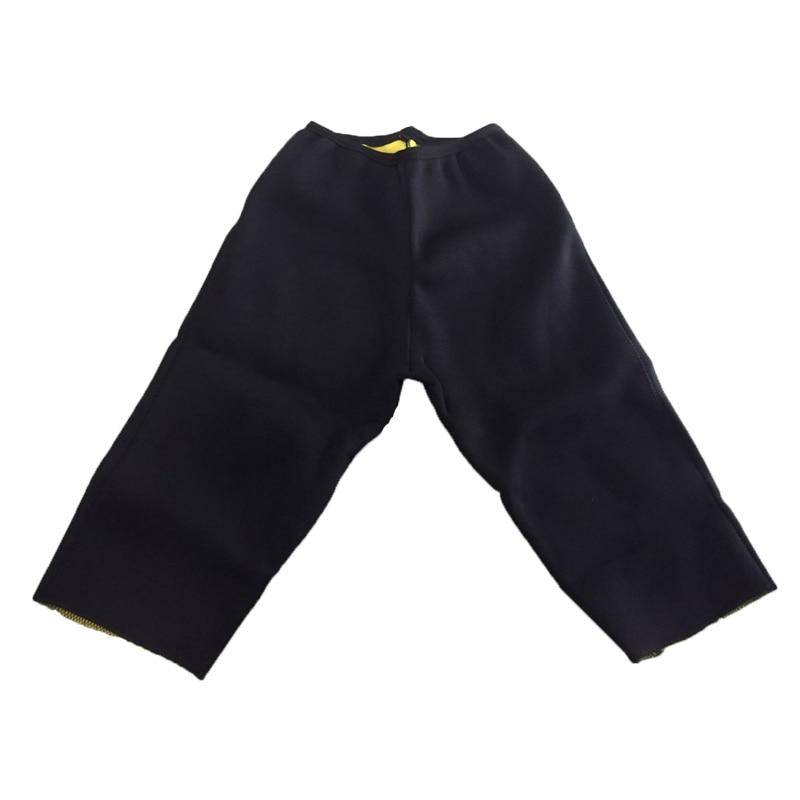Womens adelgazamiento pantalones Hot Thermo neopreno Sauna Body Shapers Fitness Stretch Control bragas Burne cintura Slim Pantalones