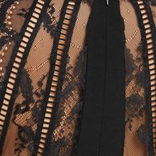Plus Size 5XL 4XL Lace Trim Surplice Bodycon Dress Women Spring V Neck Sleeveless Knee Length Low Cut Dresses Vestidos