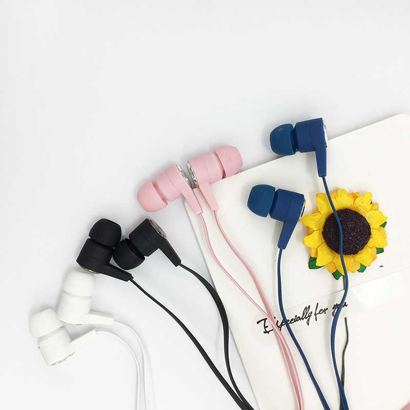 cheap earphones music dynamic wired earphone for phone