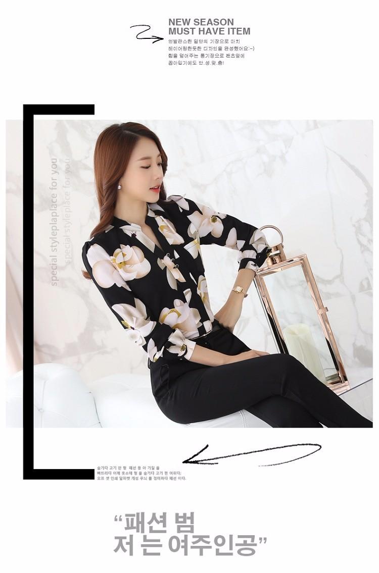 HTB116dNNVXXXXazXFXXq6xXFXXXw - Autumn Fashion Blouse Office Work Wear shirts Women Tops