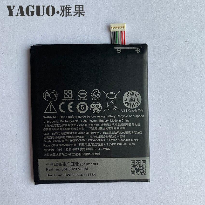 100% Original BOPKX100 2000mAh Battery For HTC Desire 626 D626W D626T 626G 626S D262W D262D A32 Cellphone Bateria
