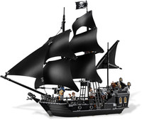 Toys CHINA BRAND L6006 Self Locking Bricks Compatible With Lego Pirates Of The Caribbean Black Pearl