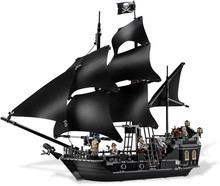 Toys CHINA BRAND L6006 self-locking bricks Compatible with Lego Pirates of the Caribbean Black Pearl 4184  no original box