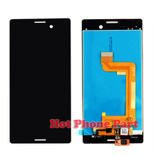 """New Original Full LCD Display For Sony Xperia M4 Aqua 5.0"""" Touch Screen Digitizer Mobile Phone LCDs NP665_3 Free Shipping"""