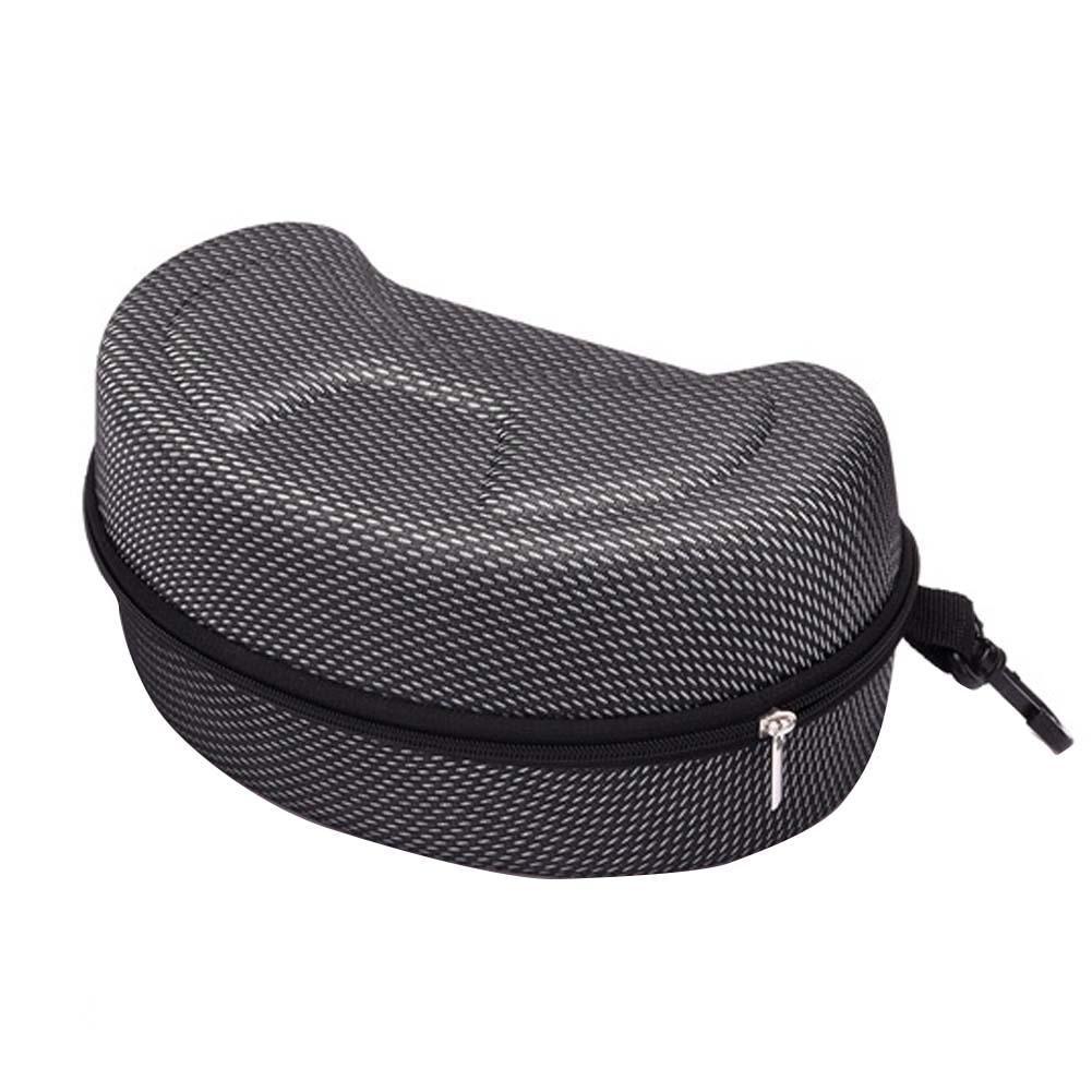 Portable EVA Ski Goggles Glasses Protector Case Glasses Box Sunglasses Zipper Storage Bag