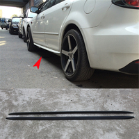 Universal PP Car Styling Side Body Kit Skirt for BMW Mercedes Benz Volkswagen Audi Nissan Toyota