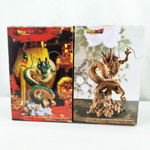 цена Japan Anime Dragon Ball Z Figure Shenron Winding Dragon Action Figure PVC Toy Gift 15cm онлайн в 2017 году
